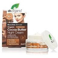 DR ORGANIC  Organic Cocoa Butter Night Cream 50ml