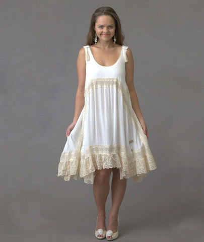 Shekinah Lace Dress - Purity Lace Designs