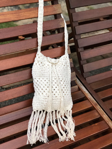 Aria Boho Handmade Handbag | Purity Lace Designs