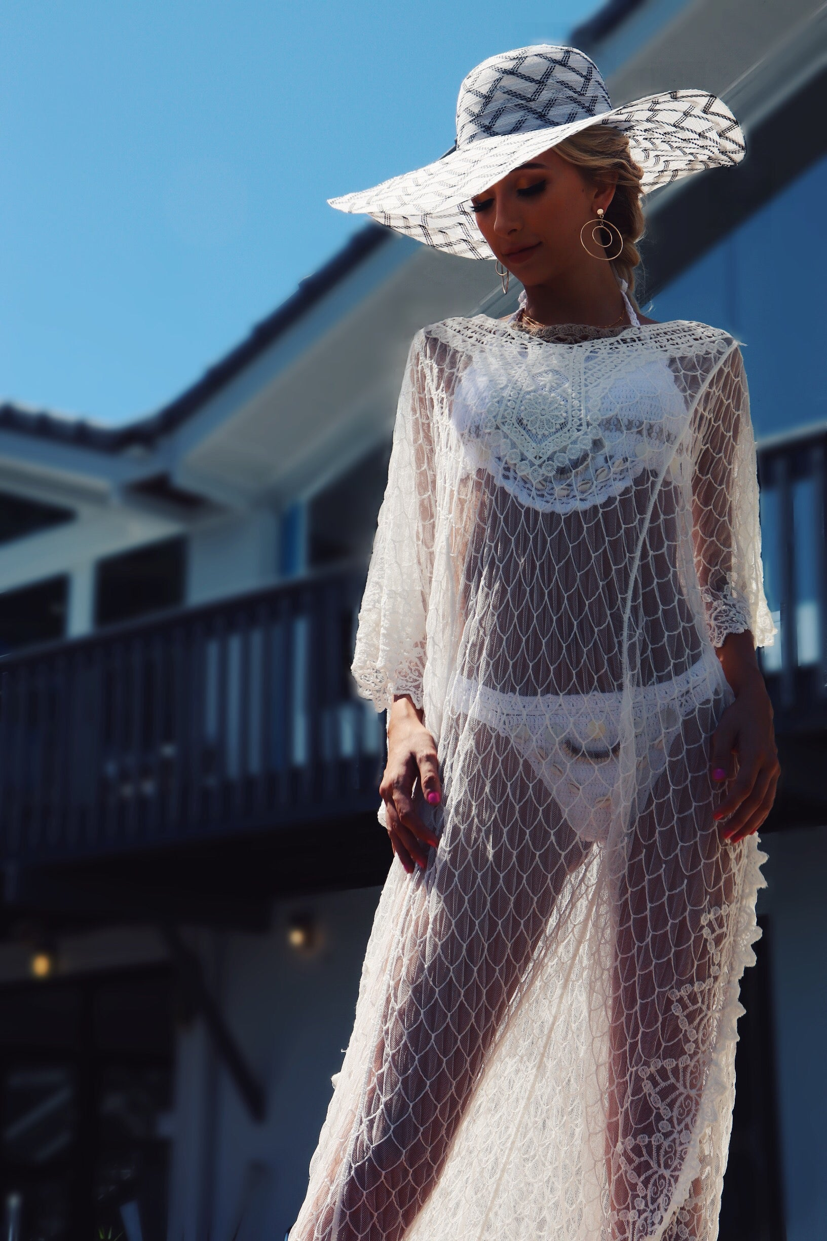 Curvy Athena Kaftan - Purity Lace Designs