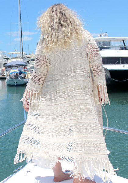 crochet gypsy jacket