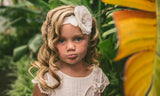 Headband flower pretty vintage boho baby
