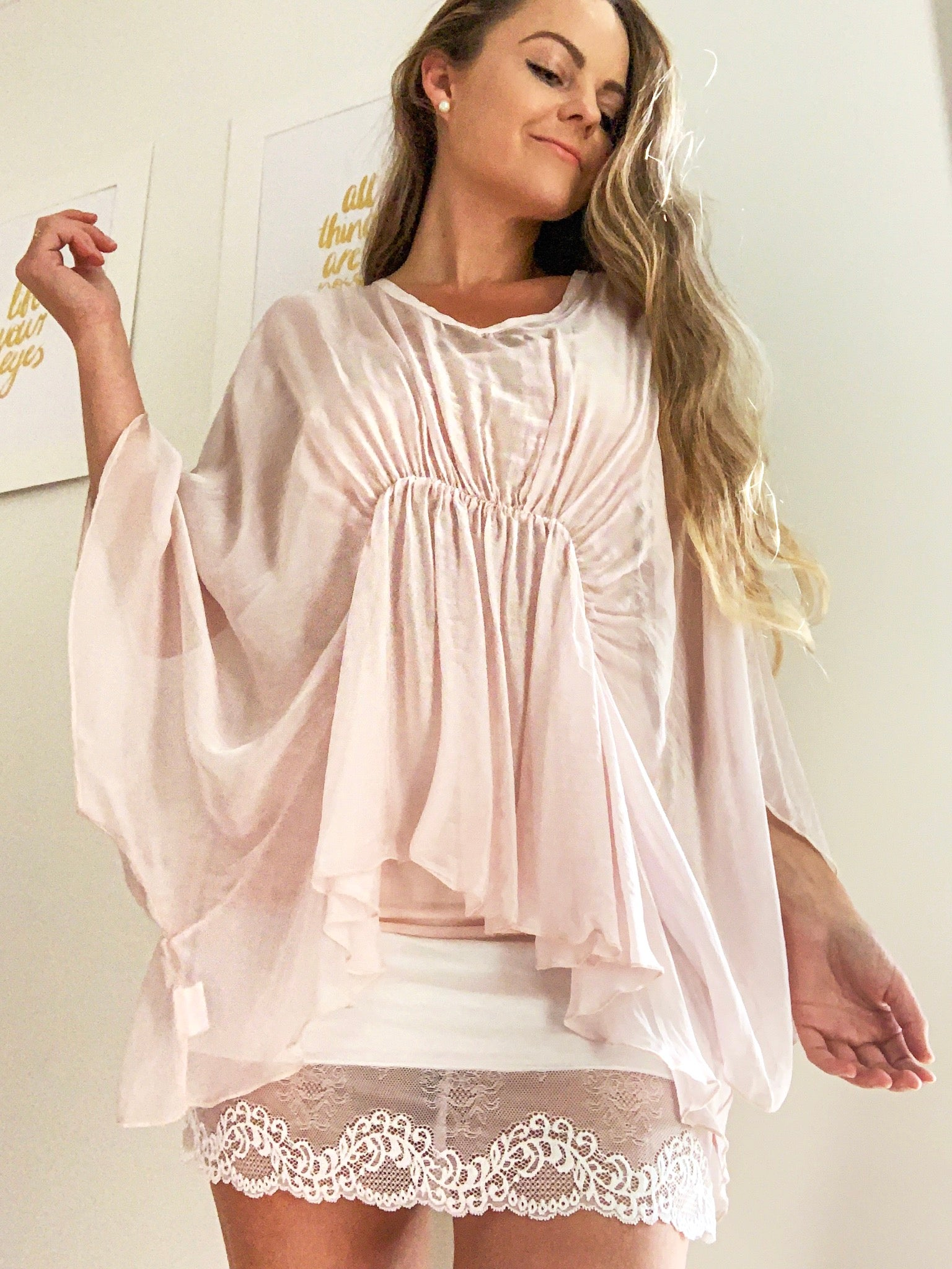 Jane Top Pink | Purity Lace Designs