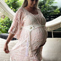 Maternity Pink Doll dress