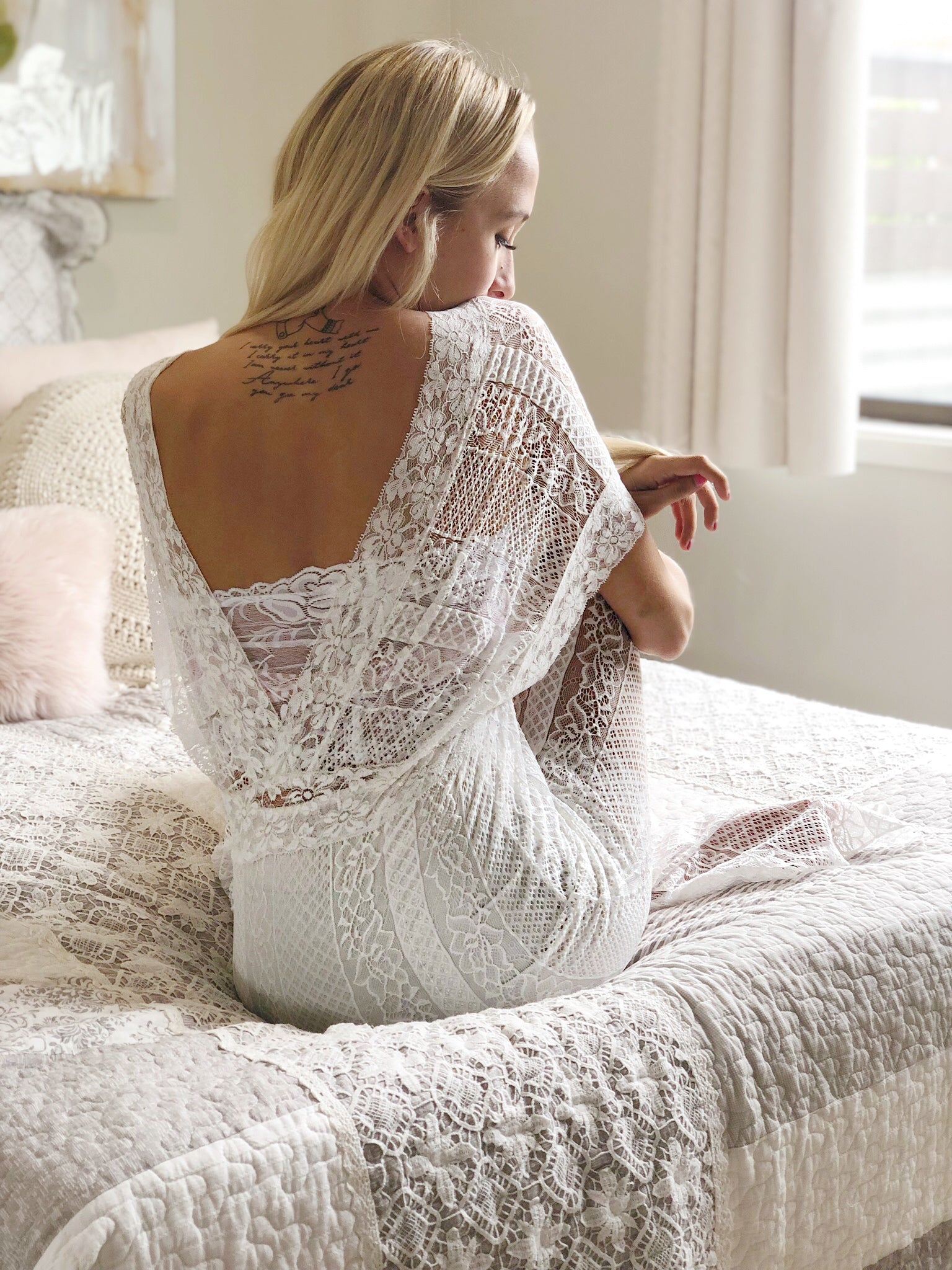 Celine White - Purity Lace Designs