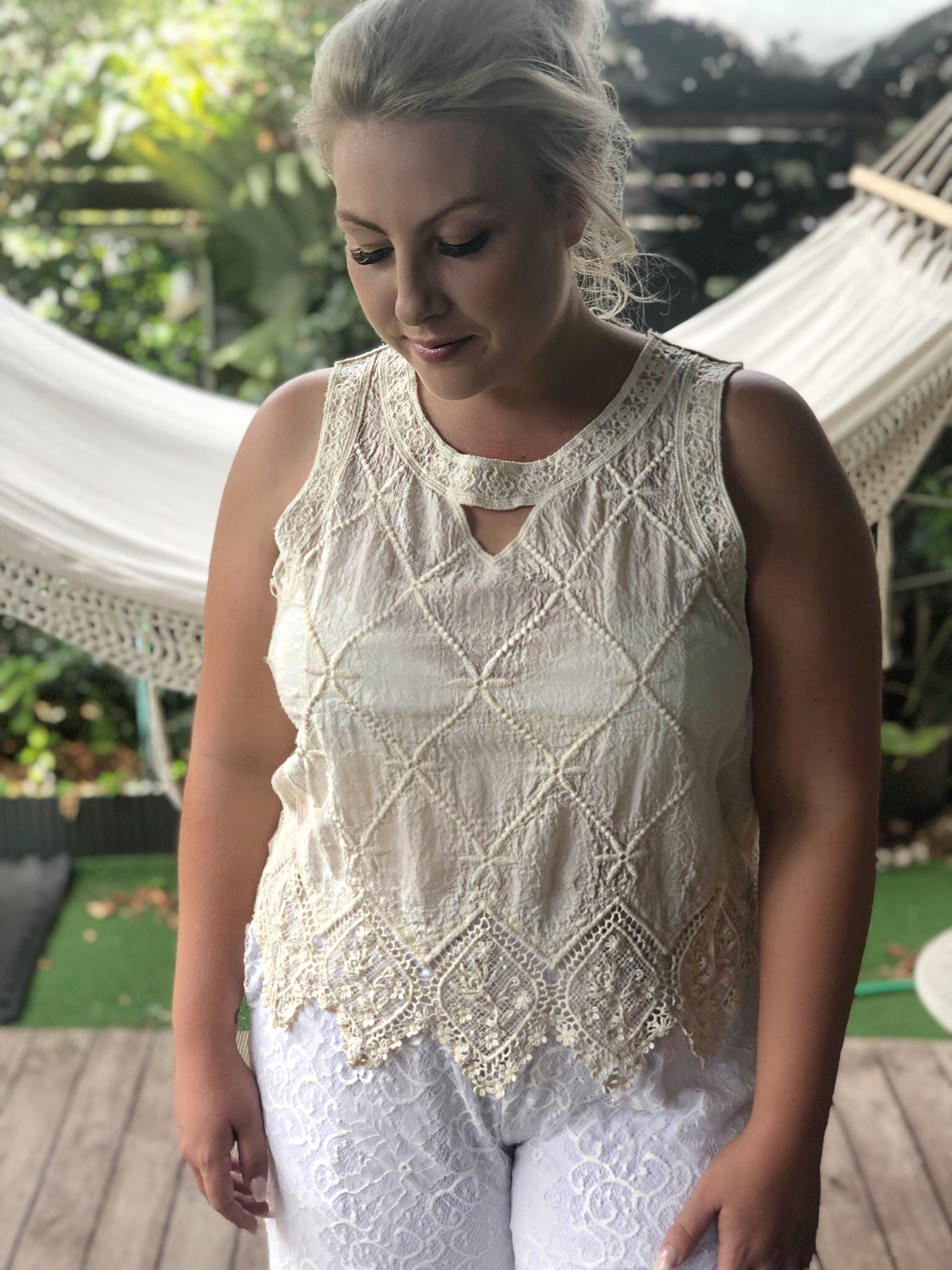 Diamond Top - Purity Lace Designs