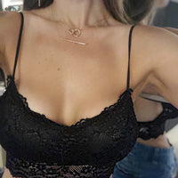 Giselle Black Lace Bra
