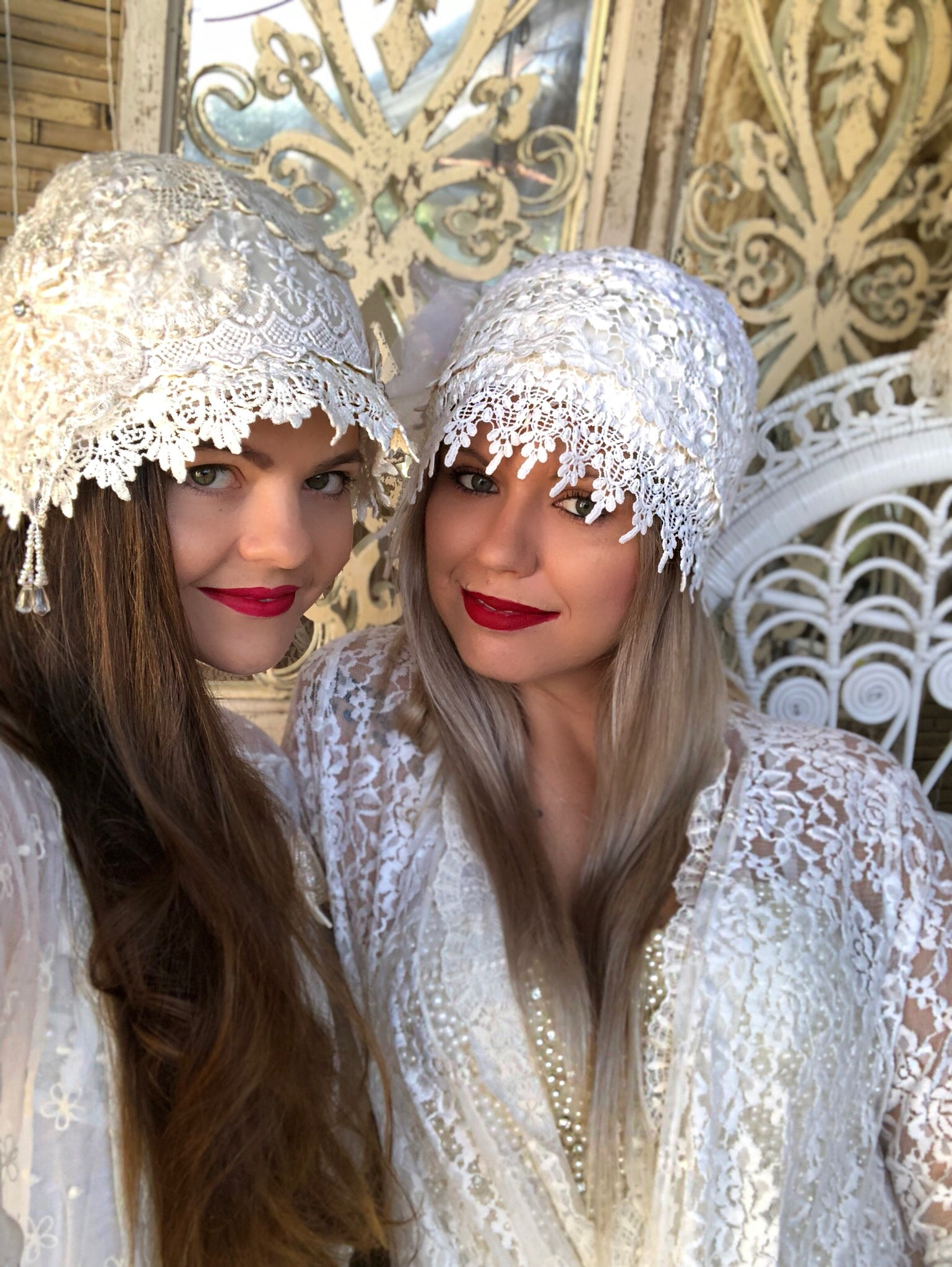 Cloche Lace Hats - Purity Lace Designs