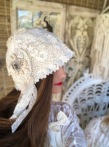 Cloche Lace Hats