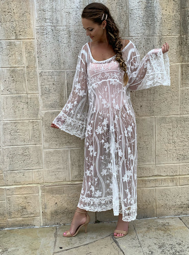 Debora Lace Dress | Purity Lace Designs