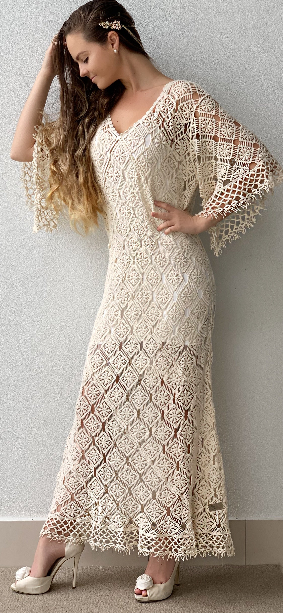 Teena Crochet dress | Purity Lace Designs