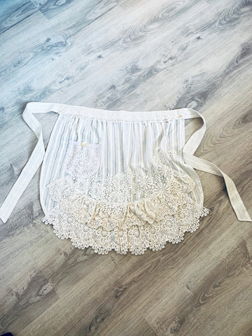 Lace Apron | Purity Lace Designs