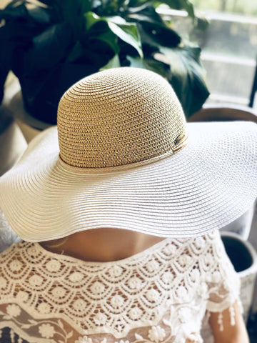 Bronte Rope Floppy Hat | Purity Lace Designs