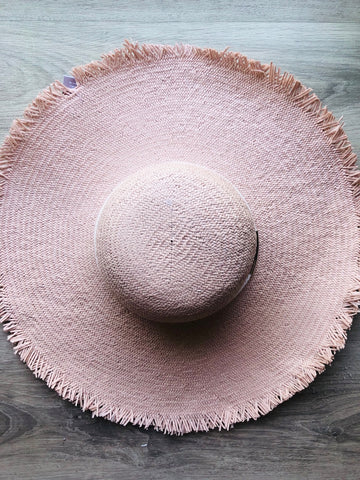 Nikita Blush Floppy Hat