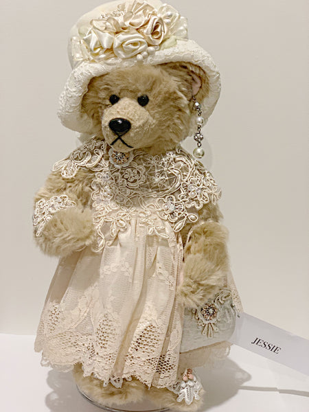 Vintage Lace Gift Teddy Bear