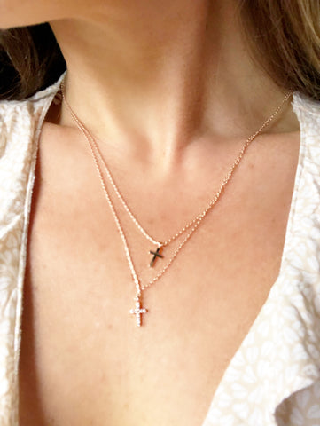 Ultimate Love 14K Rose Gold Necklace - Purity Lace Designs