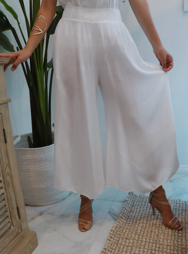 Gatsby Flapper Pants White