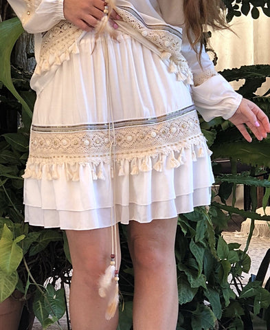 Splendour Skirt - Purity Lace Designs