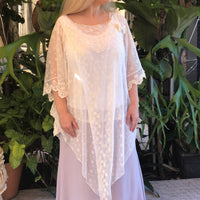 Frynee Lace Tunic Dress