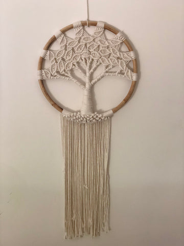 Tree of Life Macrame Decor
