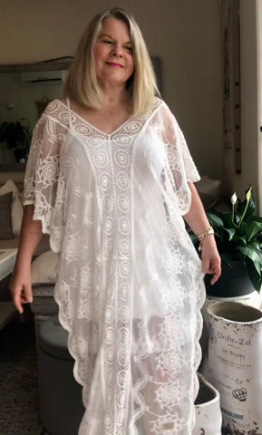 Garden Of Eden Kaftan - Purity Lace Designs