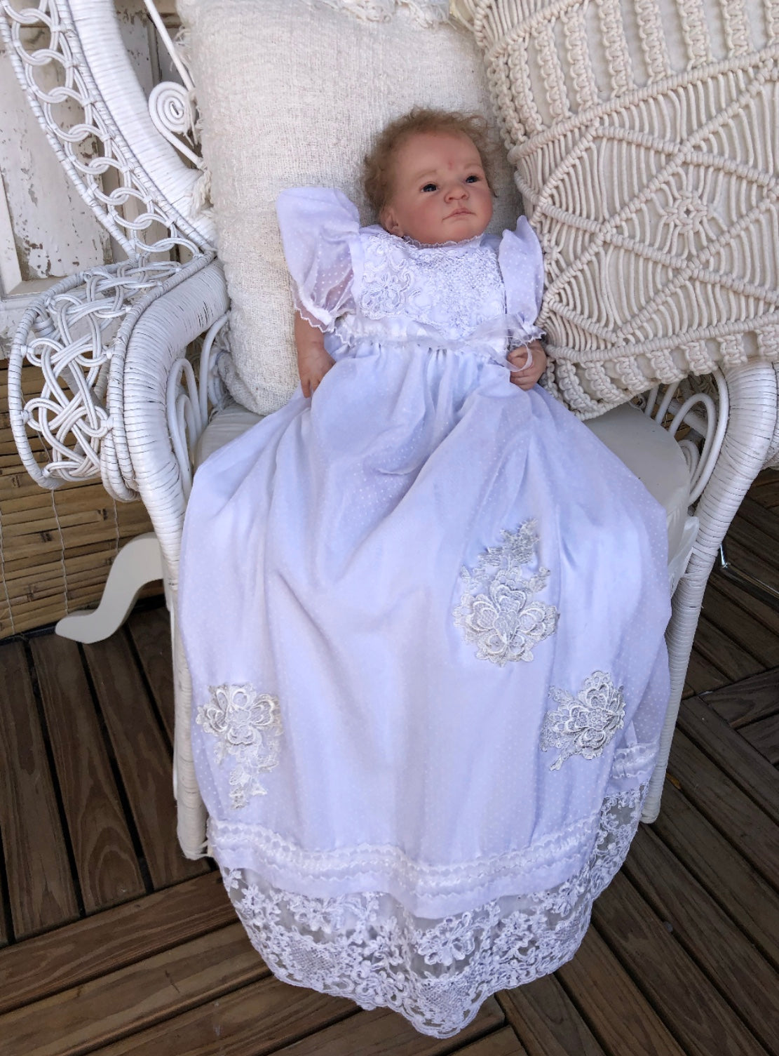 Harmony Christening Dress | Purity Lace Designs