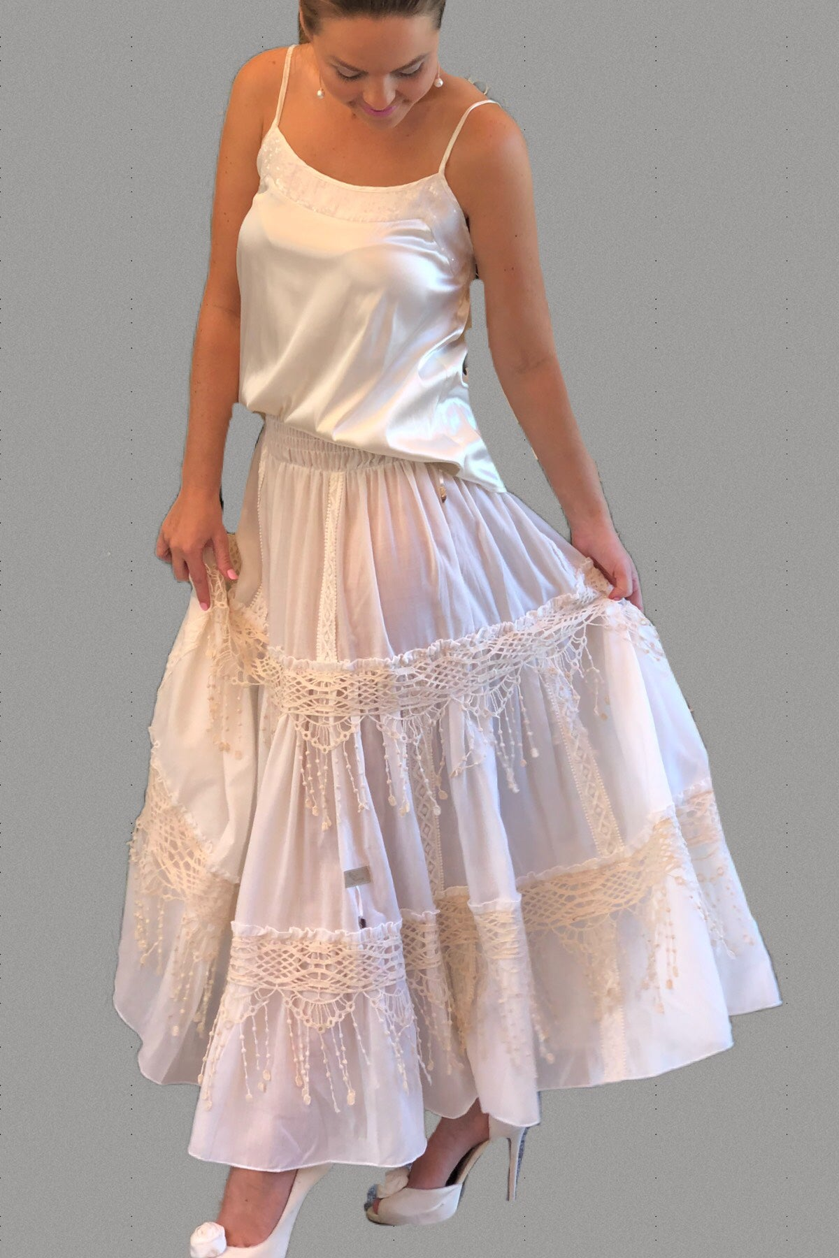 Festival Lace Skirt - Purity Lace Designs