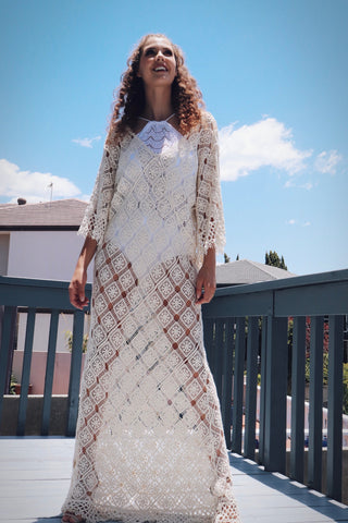 Teena Crochet dress - Purity Lace Designs