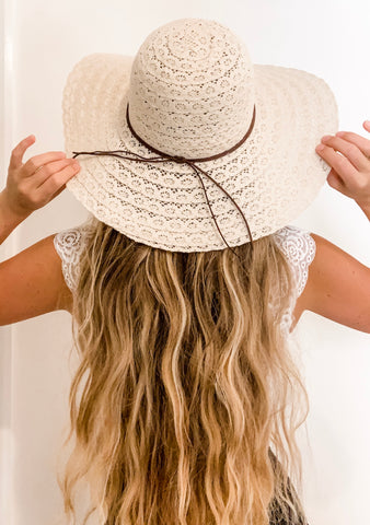 Claire Floppy Hat | Purity Lace Designs