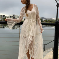 Blessed Lace Kimono