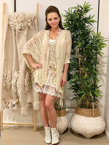 Pocahontas Poncho | Purity Lace Designs