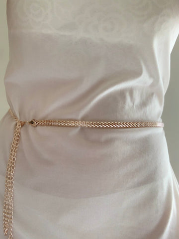 Gold Snake Belt | Purity Lace Designs