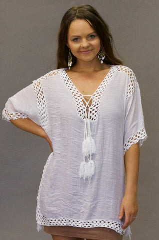 Joanne Kaftan Top - Purity Lace Designs