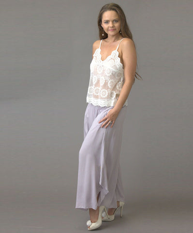 Gatsby Flapper Pants  Grey - Purity Lace Designs