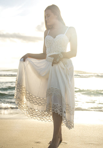 Positano Lace Skirt