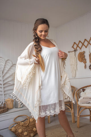 Waterfall Wonder Cardy | Purity Lace Designs