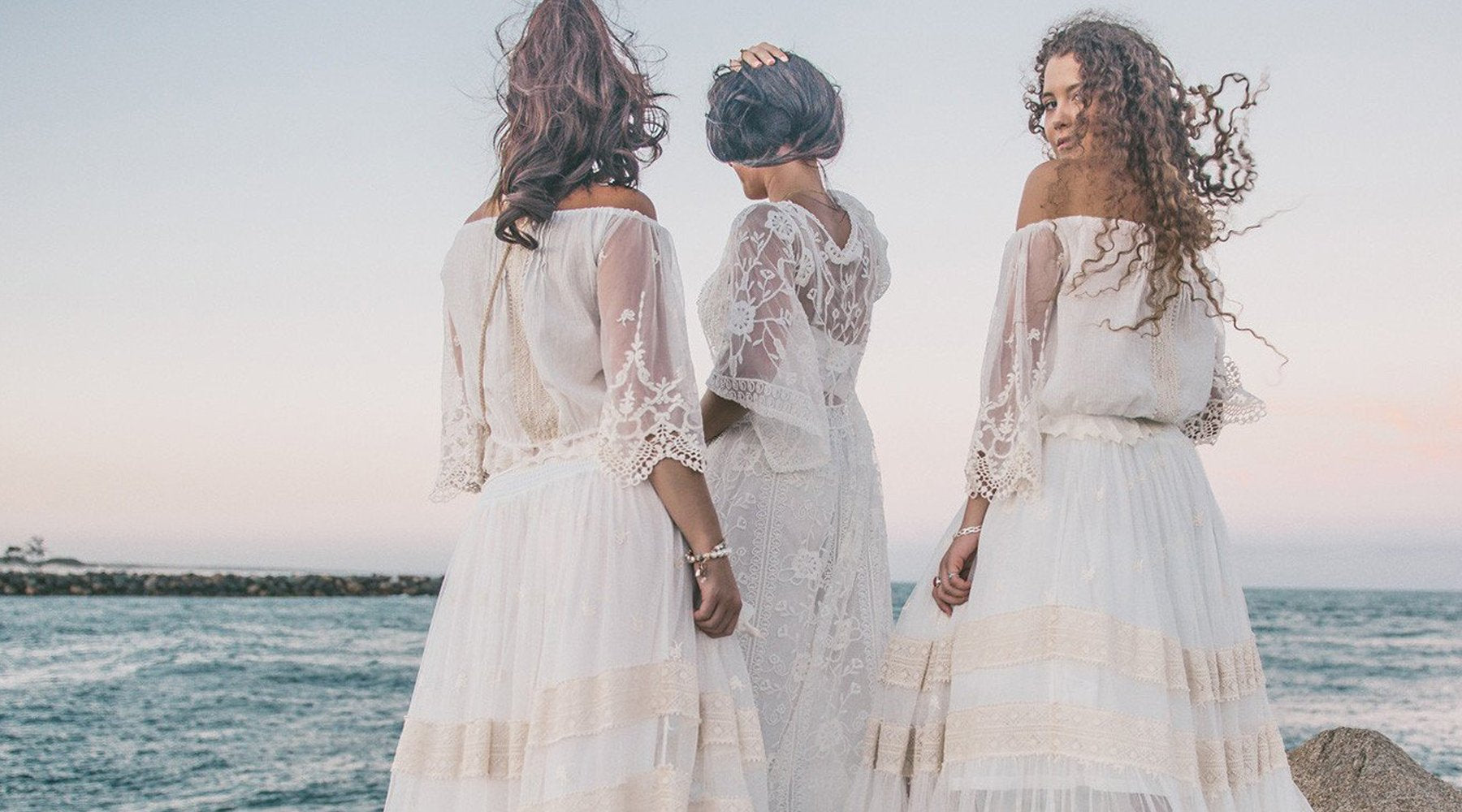 Boho Bridal Lace Resort