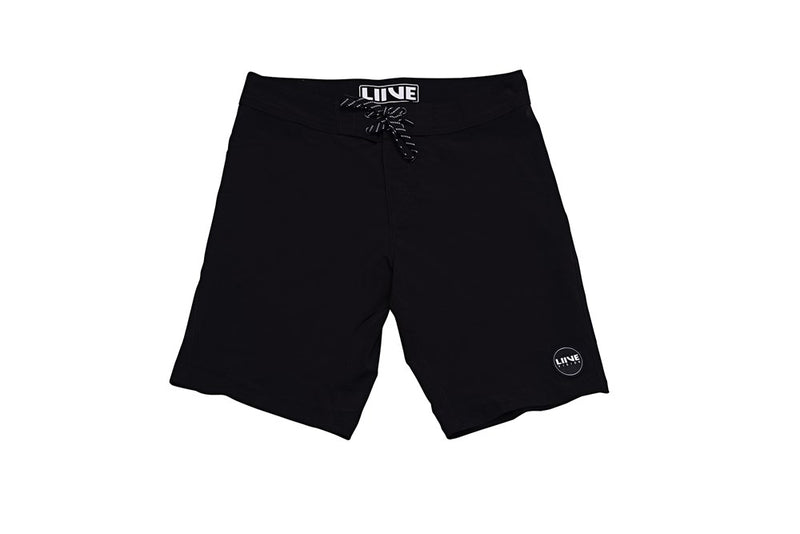 Indies Black Boadshorts