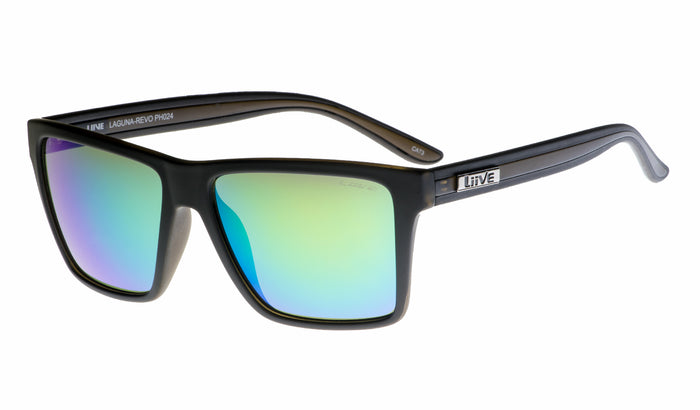 Laguna | Revo Black / Xtal Matt Beer