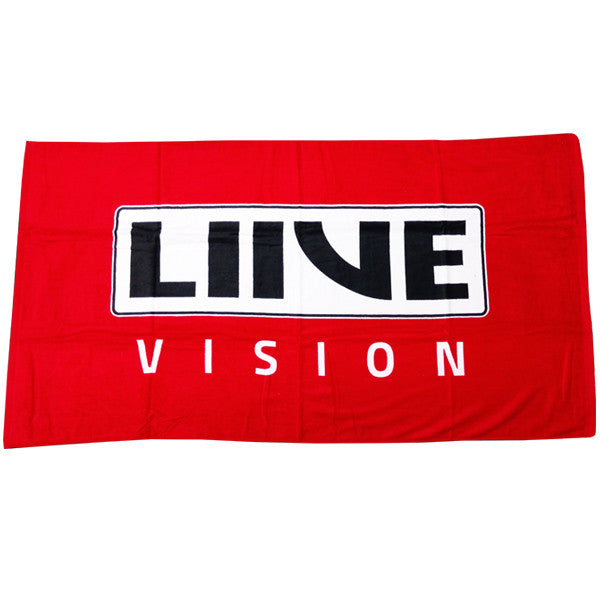 Logo Towel | Red