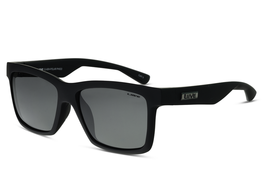 Clash | Polar Matt Black