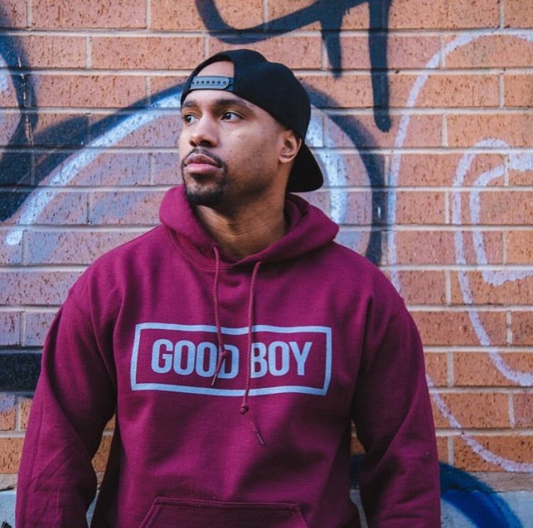 Good Boy Stamp Hoodie Sweatshirt