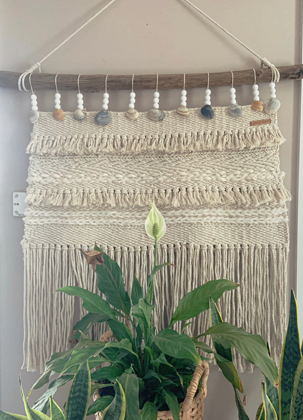 Weaving/ Macraweave Wallhanging