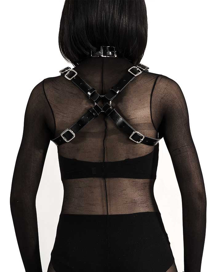 Body Bag Leather Harness