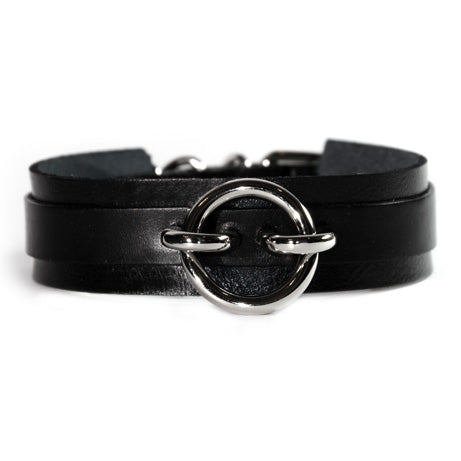 Hitch A Witch Leather Choker