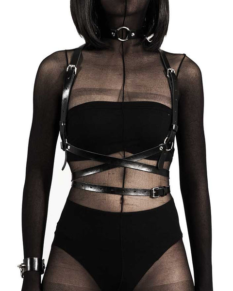 Kundalini Leather Body Harness