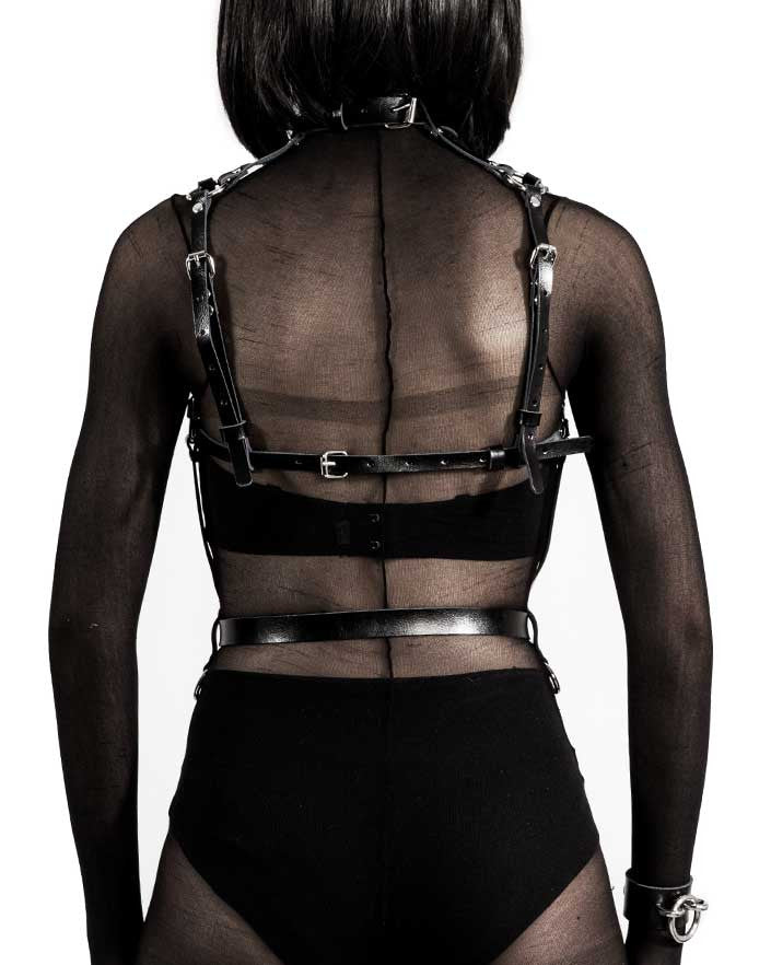 The Holy One Leather Body Harness
