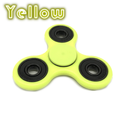 Yellow Fluorescent Hand Spinner