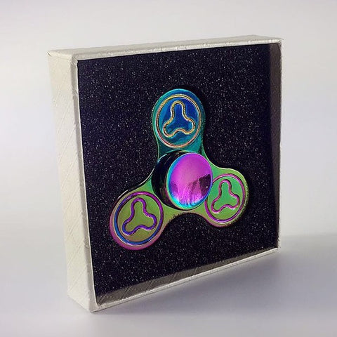 GoSpinner Special #001 - Metal Rainbow (Free FedEx Shipping 7 to 12 Days)