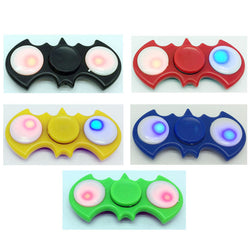LED Batman Plastic Finger Spinner